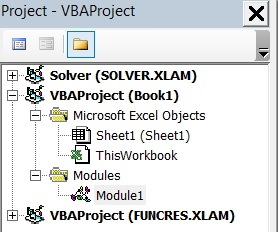 Tutorial1 06 Project Explorer Opened