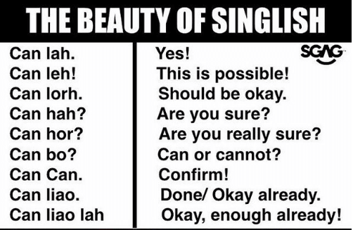 Singlish Meme
